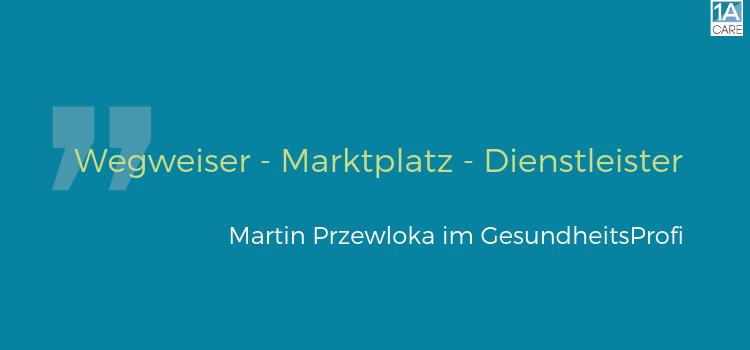 Wegweiser – Marktplatz – Dienstleister